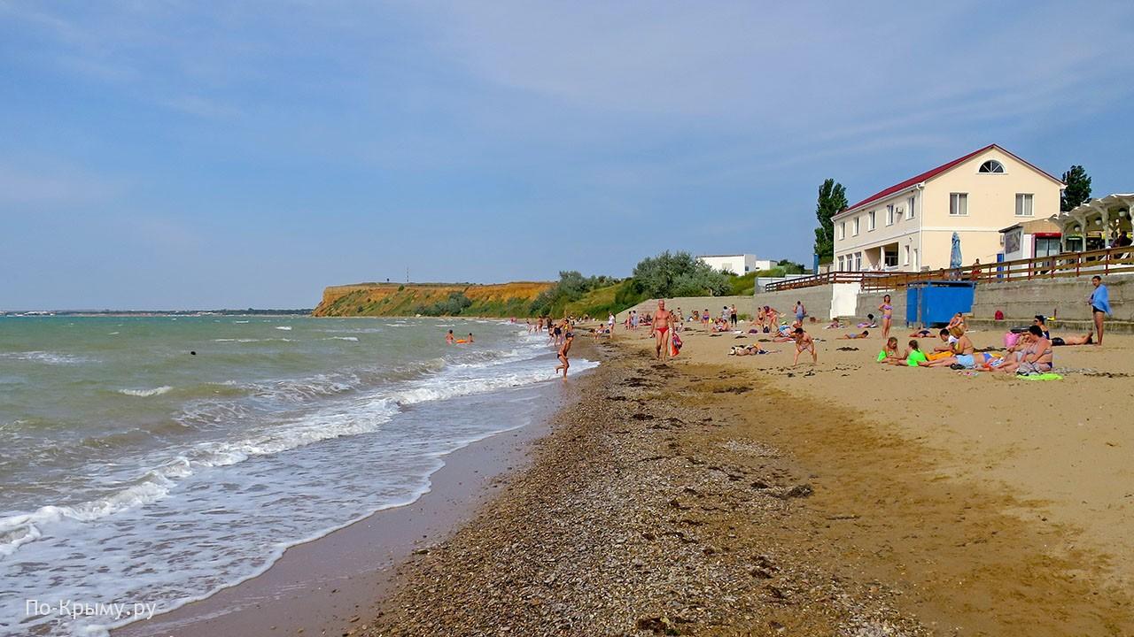 Курорт Угловое в Крыму - отдых, пляжи, жилье