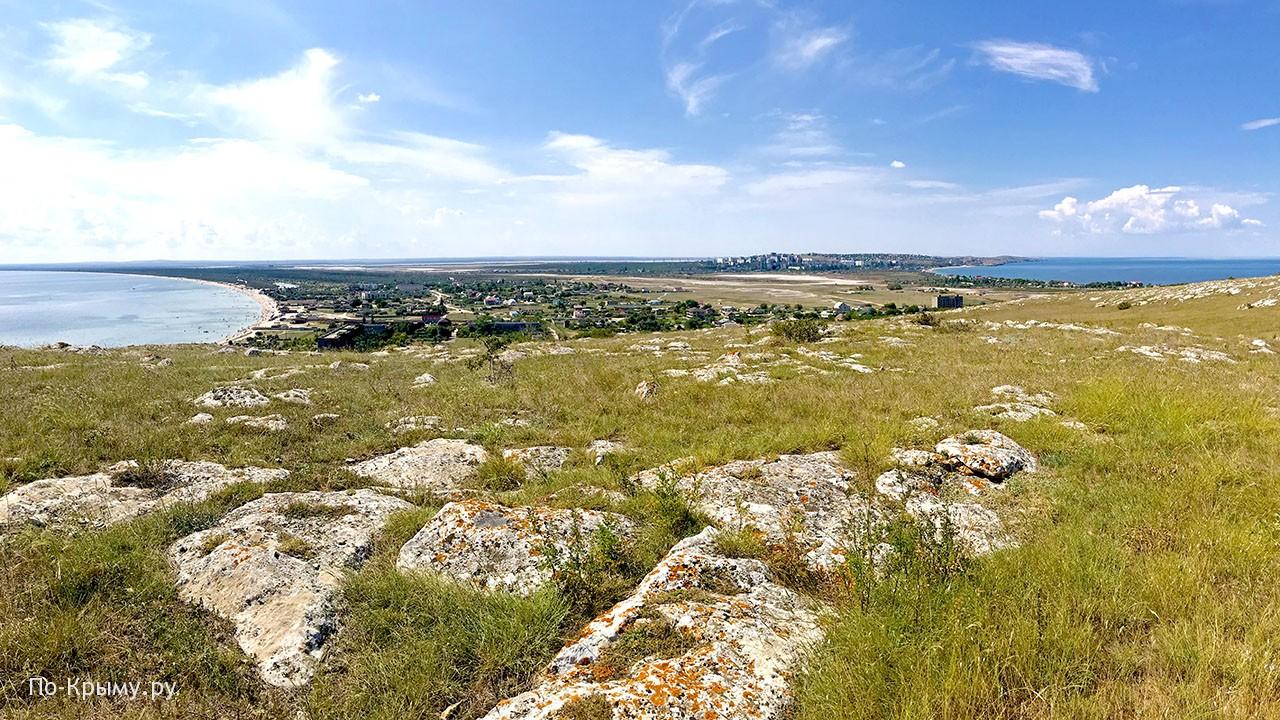 Город-курорт Щелкино в Крыму