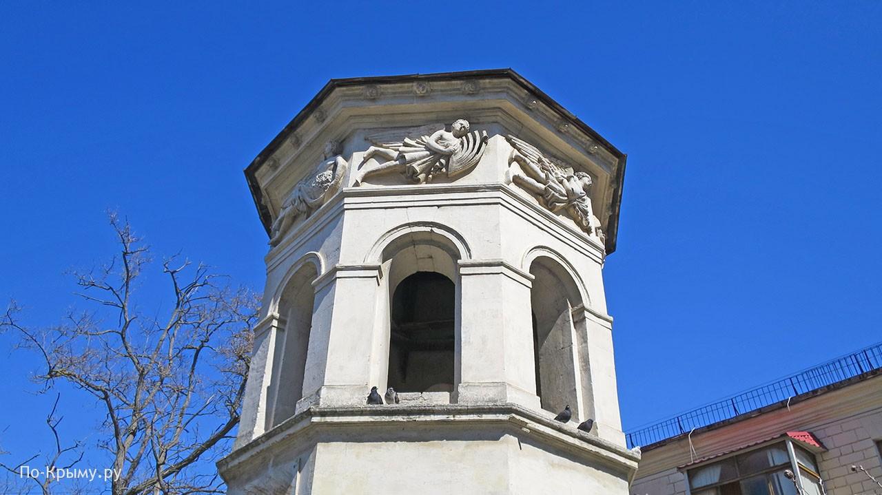 Кто изображен на Башне ветров