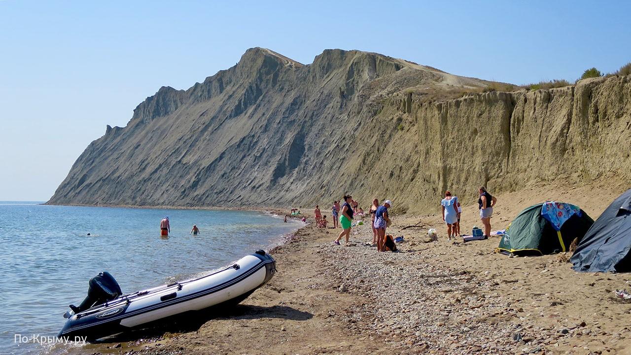 Вид со стороны Тихой бухты