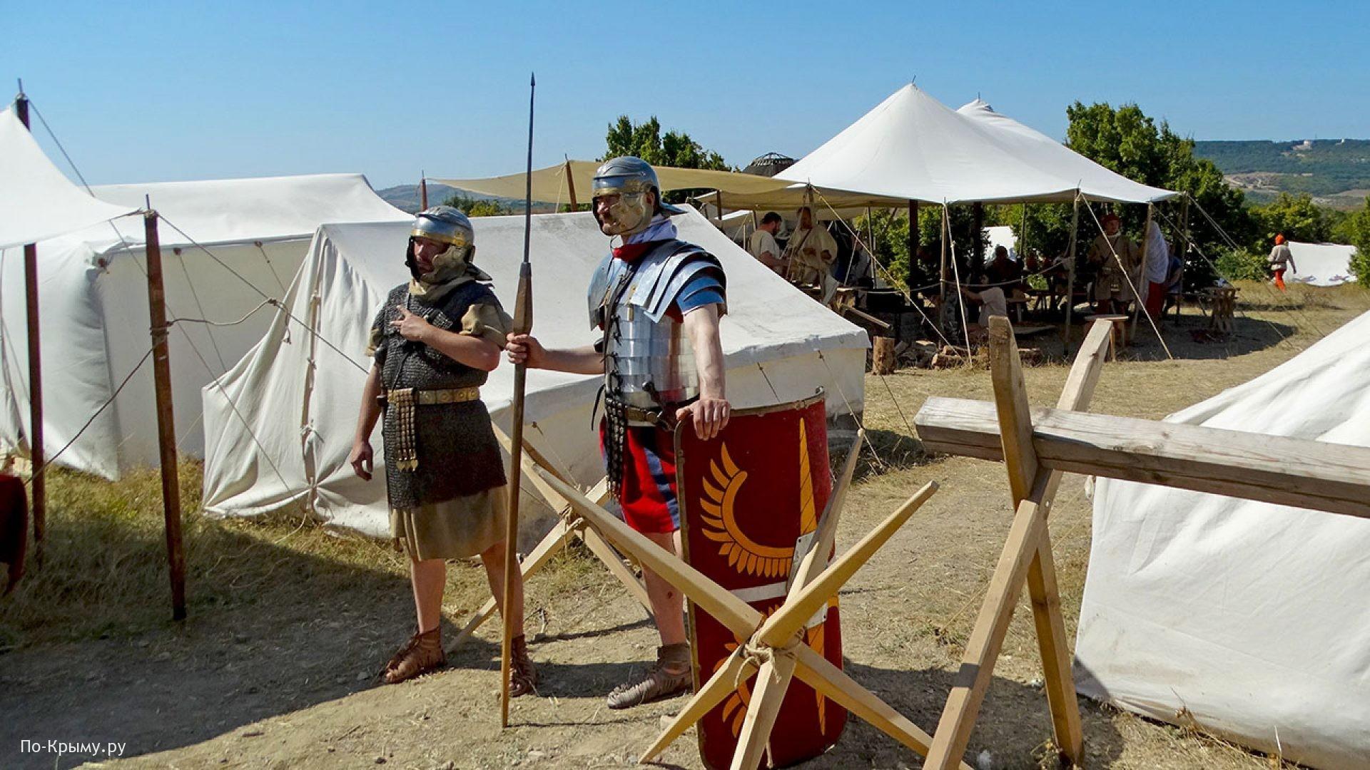 Севастополь, лагерь римских легионеров