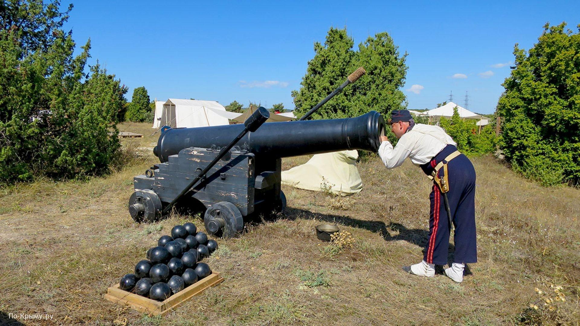 Главную пушку фестиваля готовят к выстрелу