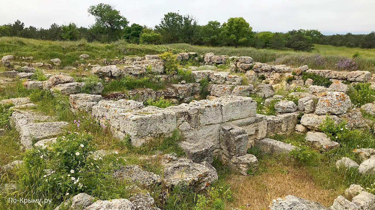 Античное поселение в балке Бермана