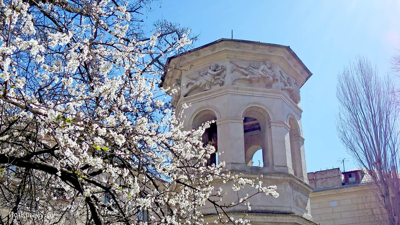 Весна на Центральном холме
