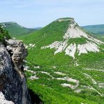 Пещерный город Тепе-Кермен в Крыму