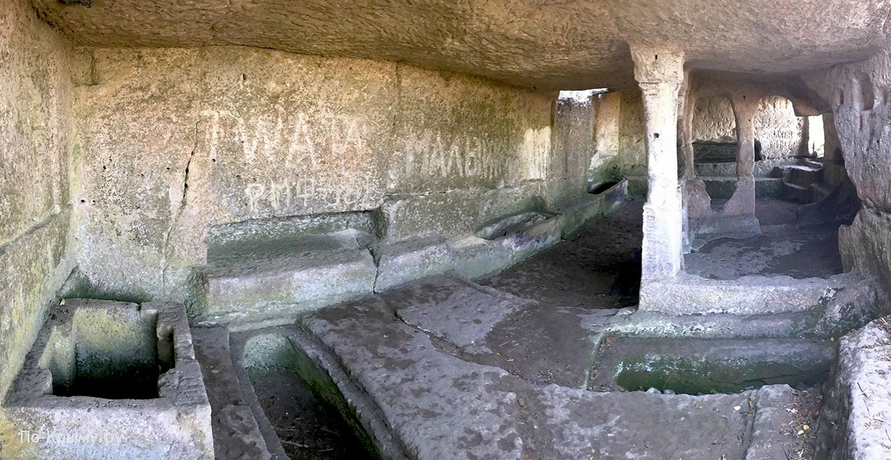 Пещерный храм Тепе-Кермена, Крым