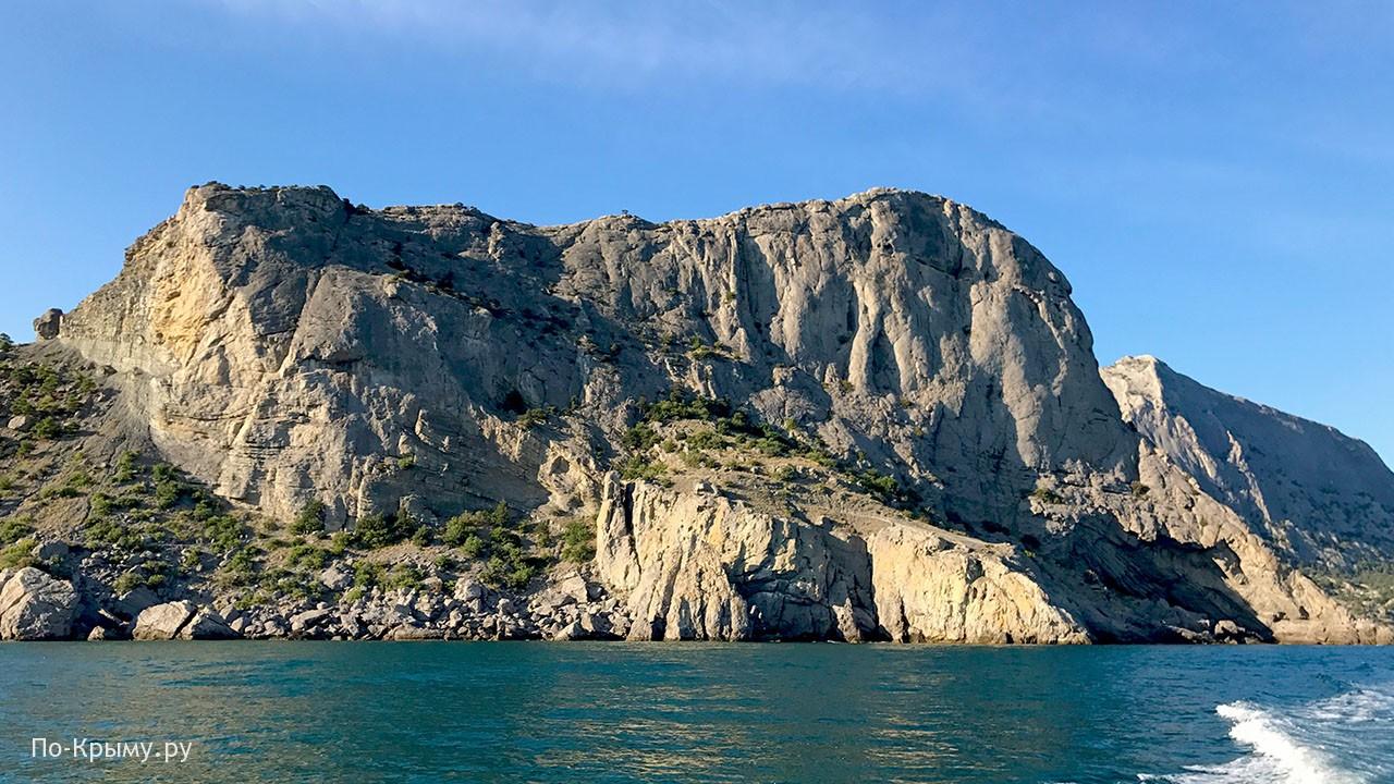 Гора Орел в Крыму у Судака