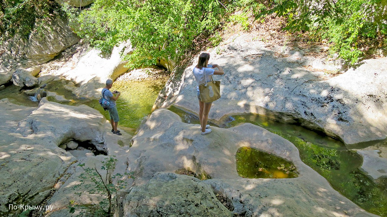Летом река Коккозка почти пересыхает