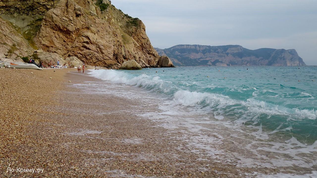 Лучший пляж Балаклавы - Васили