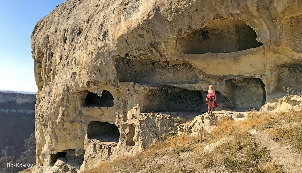 Пещерный монастырь на Тепе-Кермене