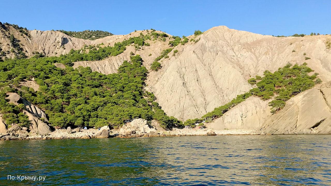 Пляж Халва у Балаклавы