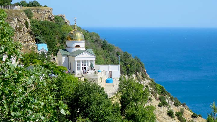Балаклавский Свято-Георгиевский монастырь на Фиоленте