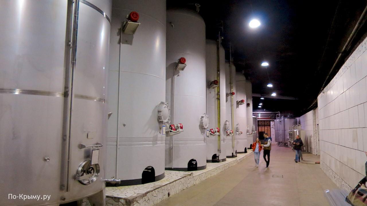 Экскурсия на Инкерманский винзавод