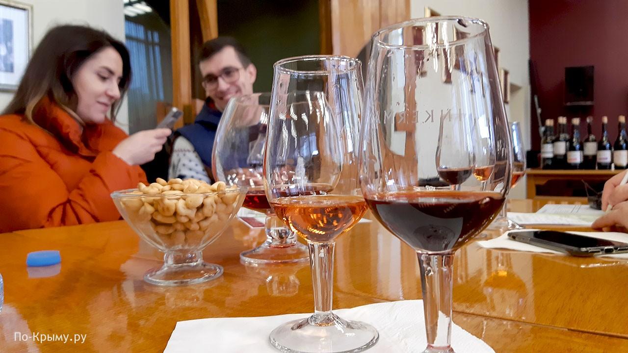 Инкерманский винзавод дегустация сухих вин и портвейнов