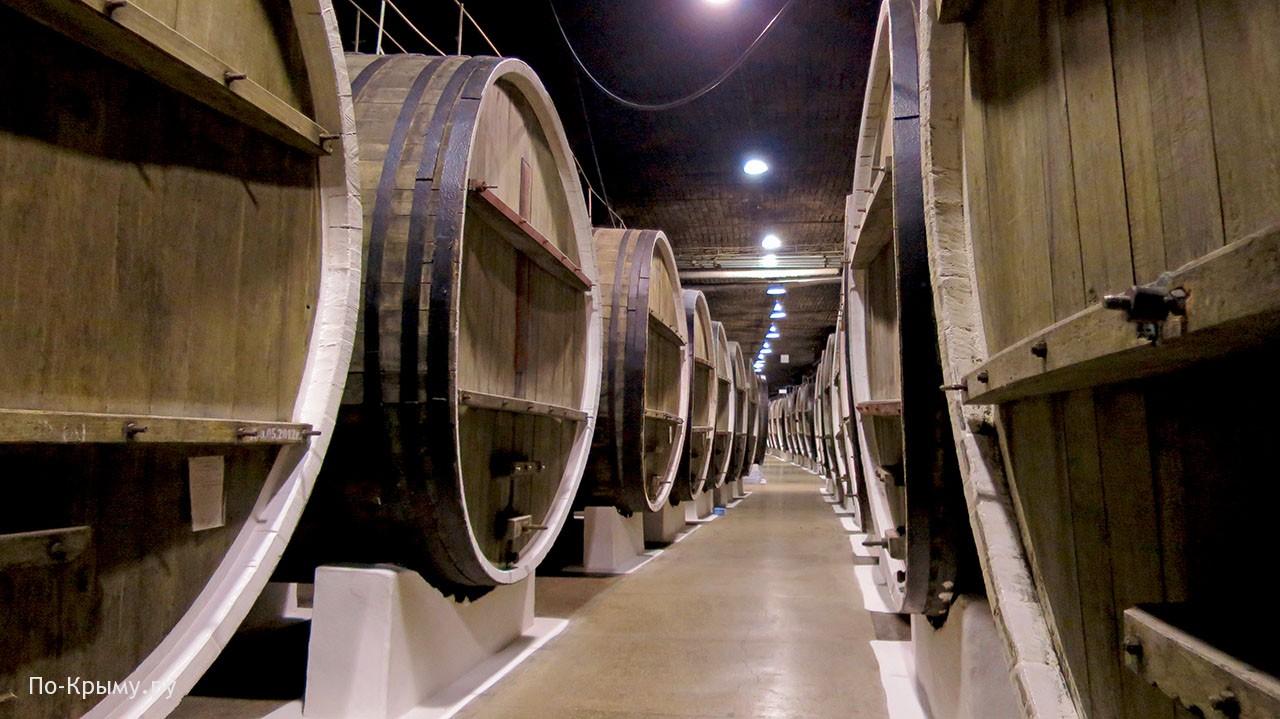 Завод марочных вин Инкерман штольни