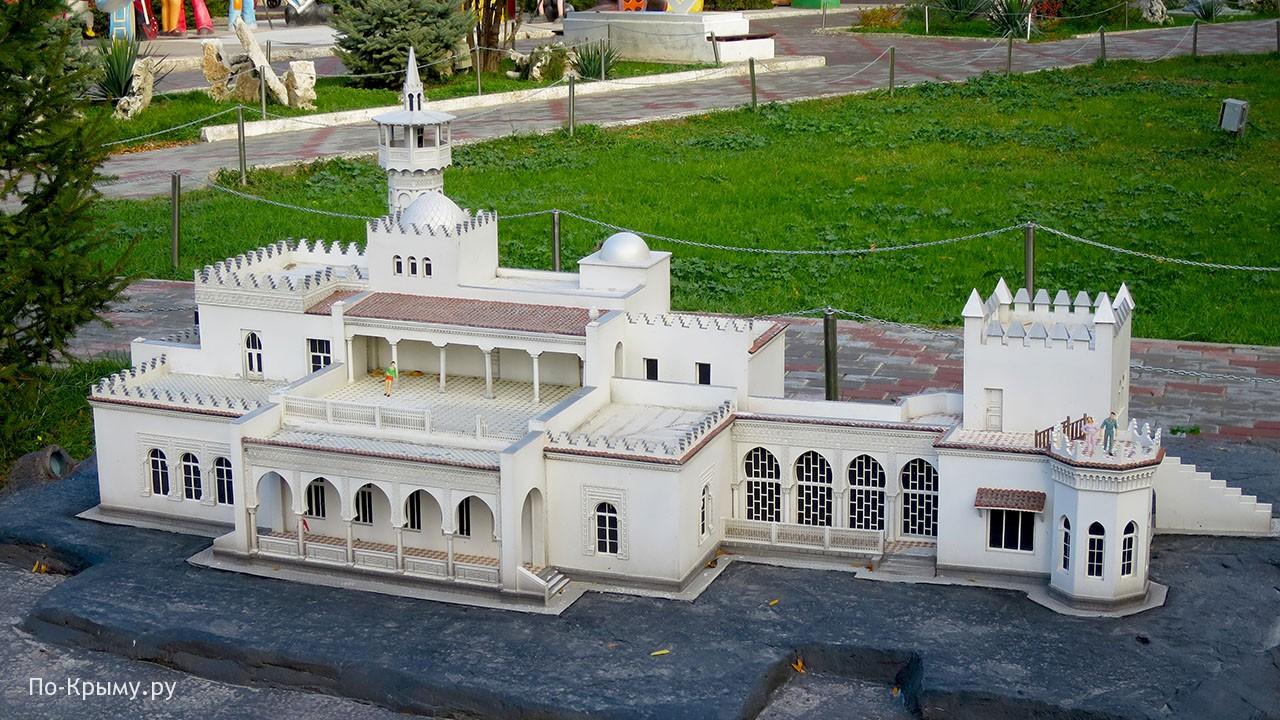 Дворец Кичкине в Бахчисарайском парке миниатюр