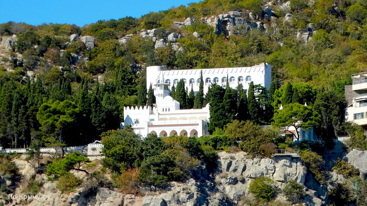 Дворец Кичкине в Курпатах