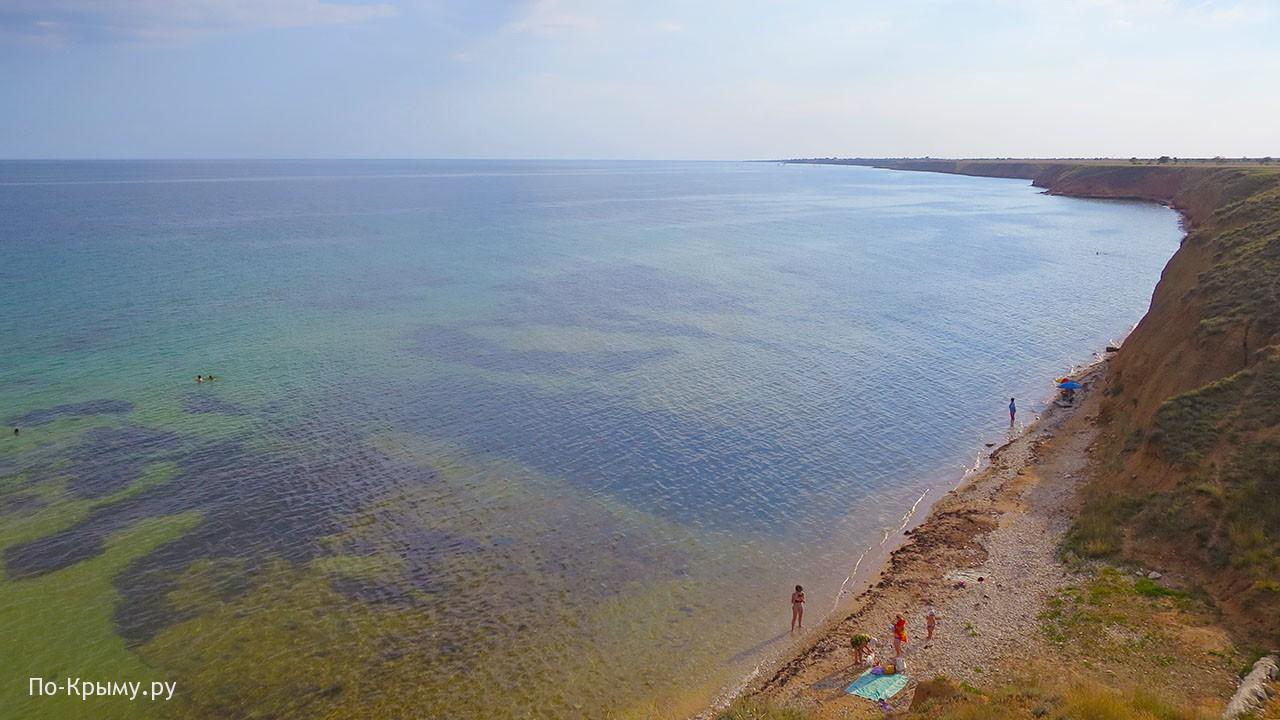 Просторные песчаные пляжи Западного Крыма