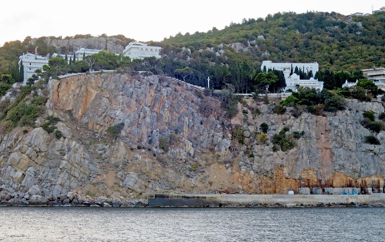 Дворец Кичкине в Гаспре