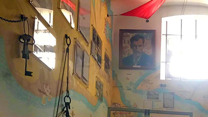 Музейная комната Александра Грина в Севастополе
