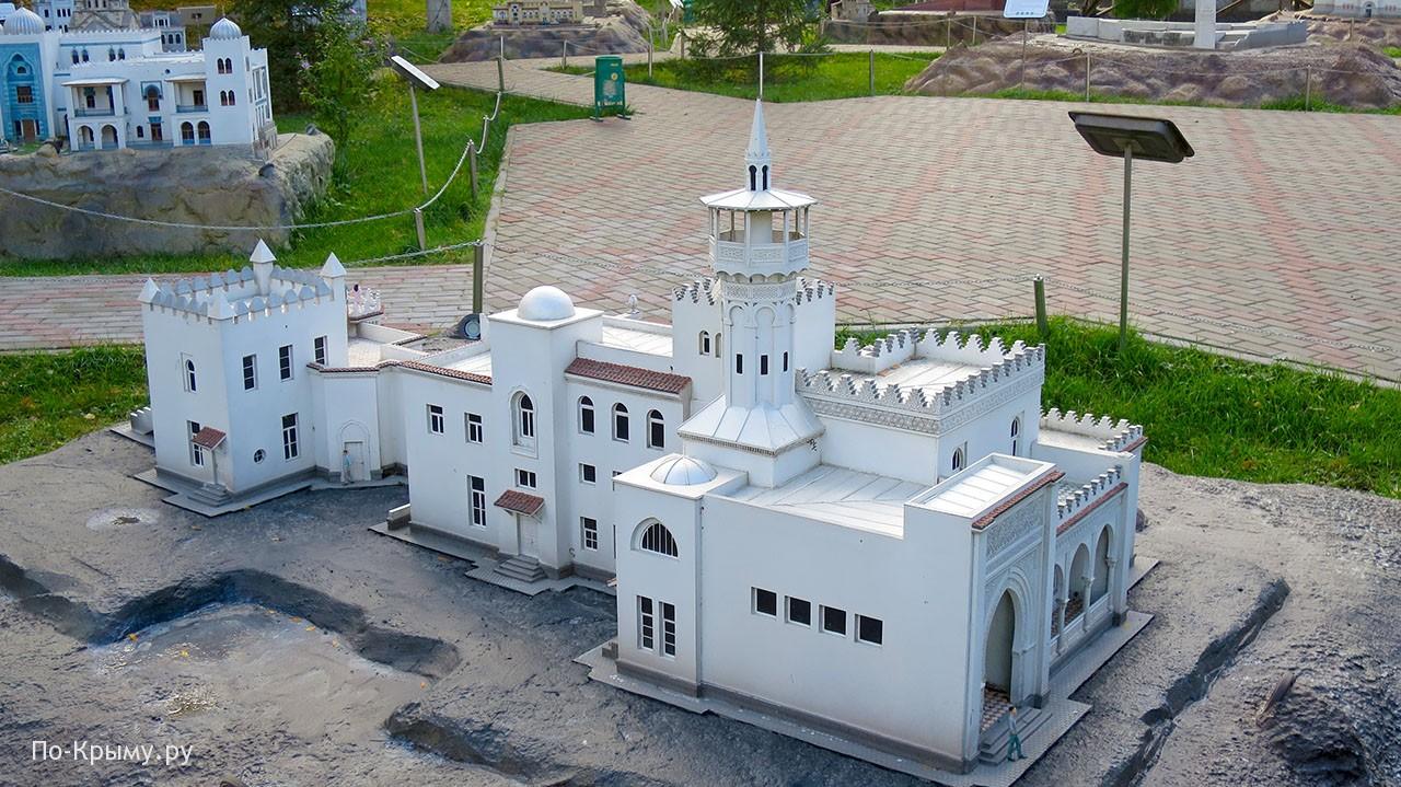 Дворец Кичкине в парке миниатюр Бахчисарая