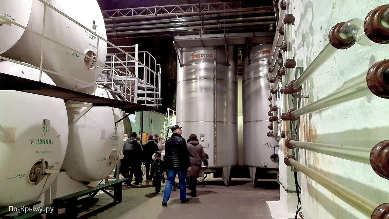 Экскурсия на винный завод Инкерман