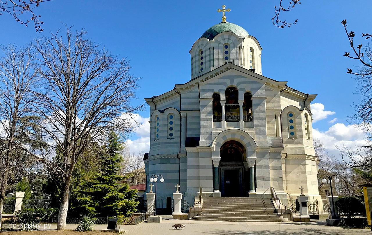 Собор святого Владимира (усыпальница адмиралов) Севастополь