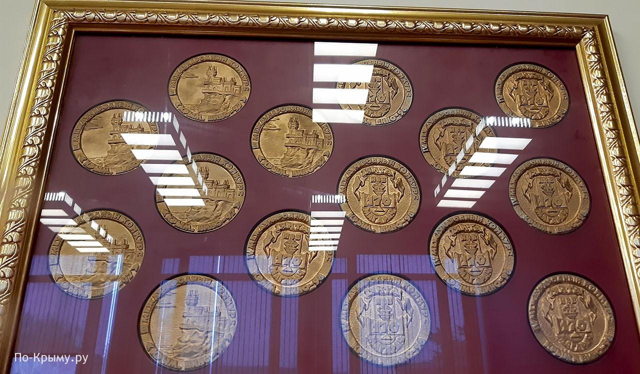 Награды, врученные винам завода Инкерман