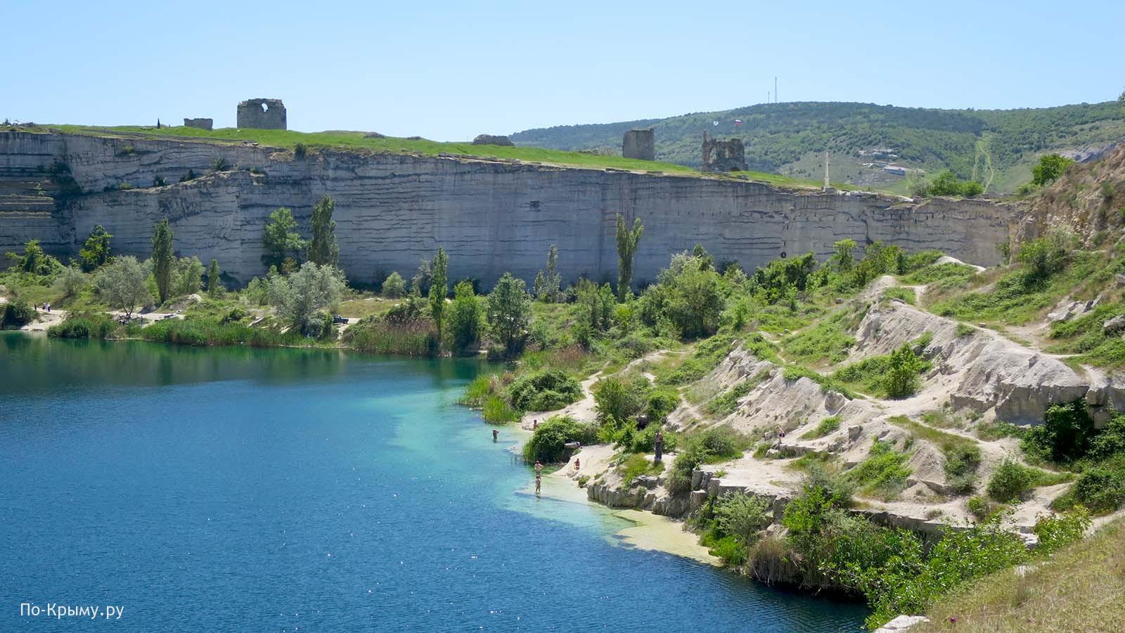 Инерманский карьер - озеро св. Климента