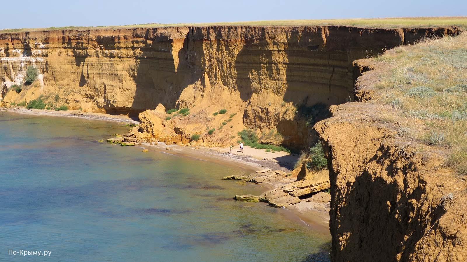 Нудистский пляж у мыса Лукулл