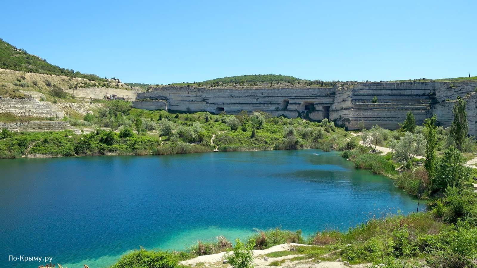 Инкерманское озеро в Крыму