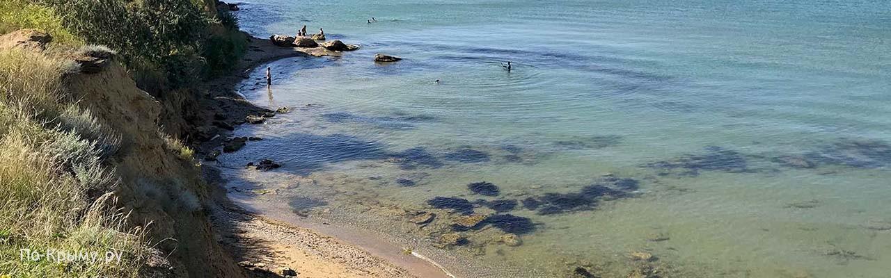 Самый северный пляж региона Севастополь