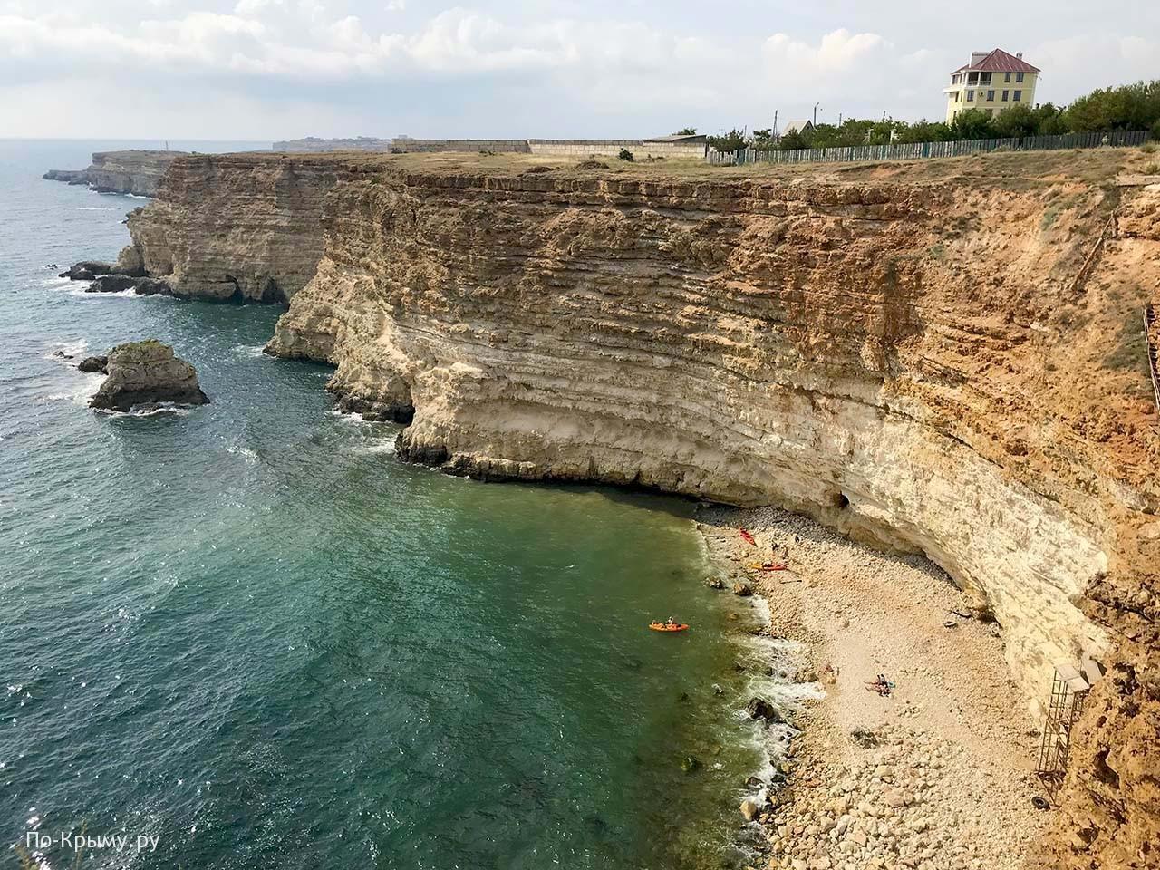Экстремальный спуск на дикий пляж Фиолента