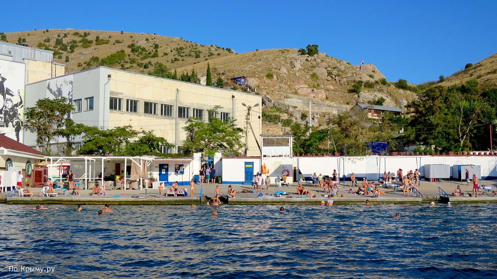 Балаклавский городской пляж