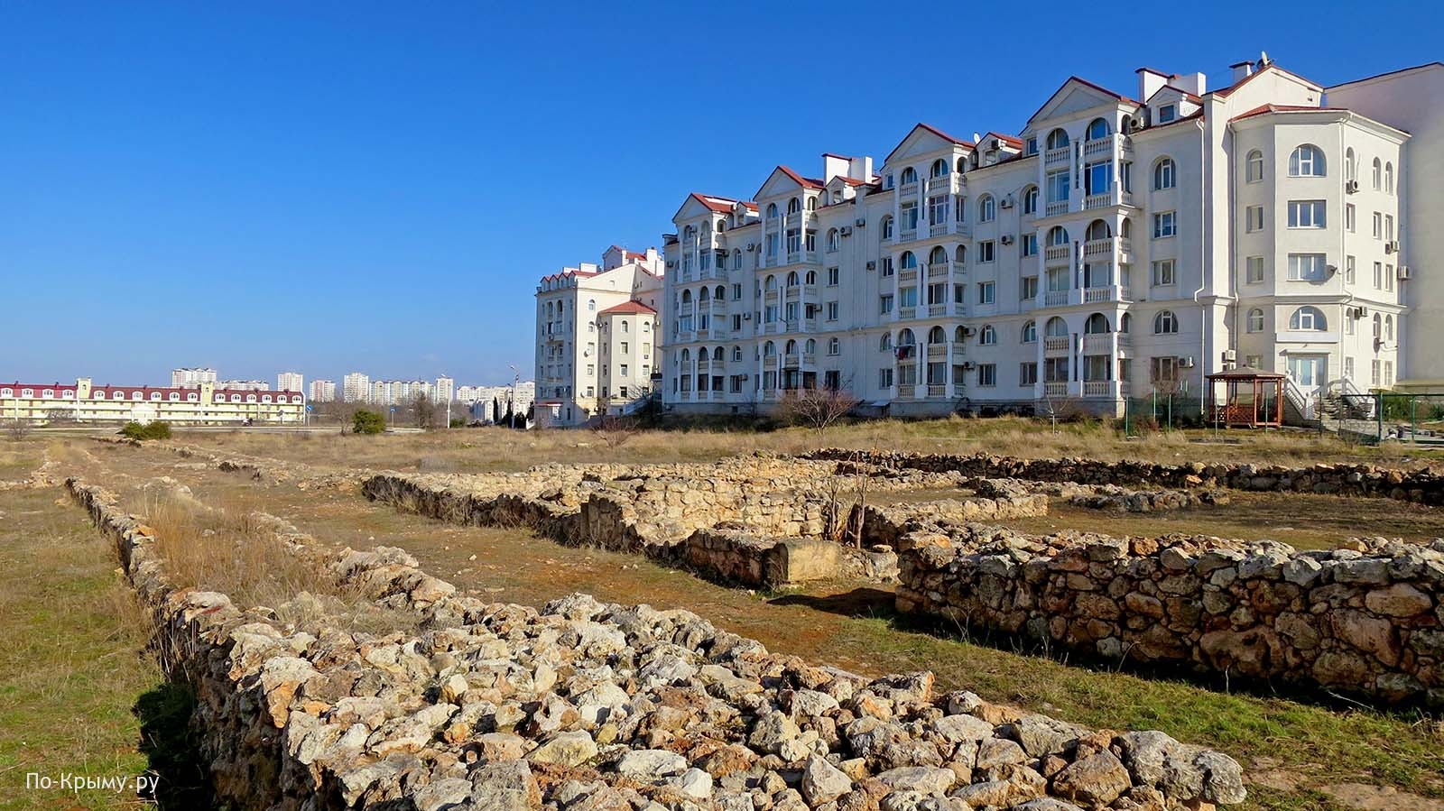 Античная дорога в Севастополе, Античный проспект