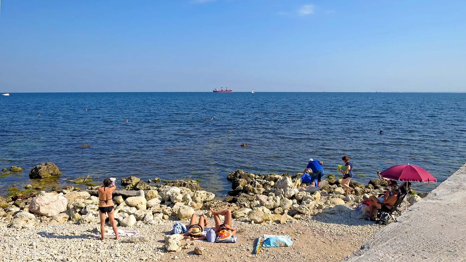 Севастополь, Черное море