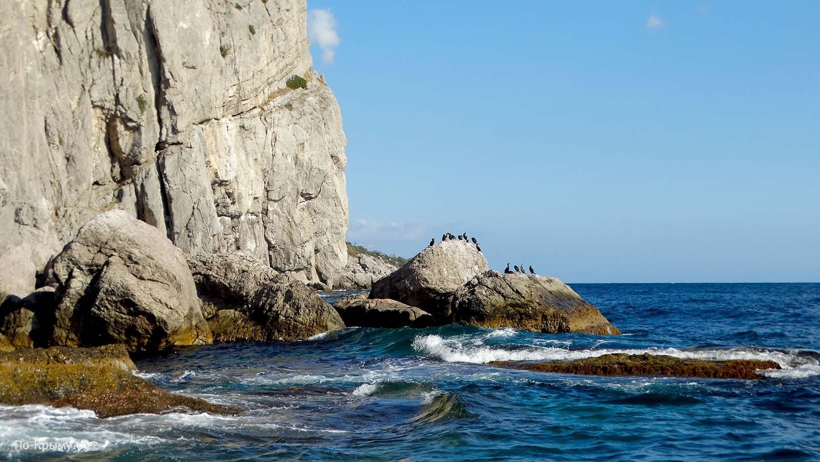 Крым, морская экскурсия к мысу Айя из Балаклавы