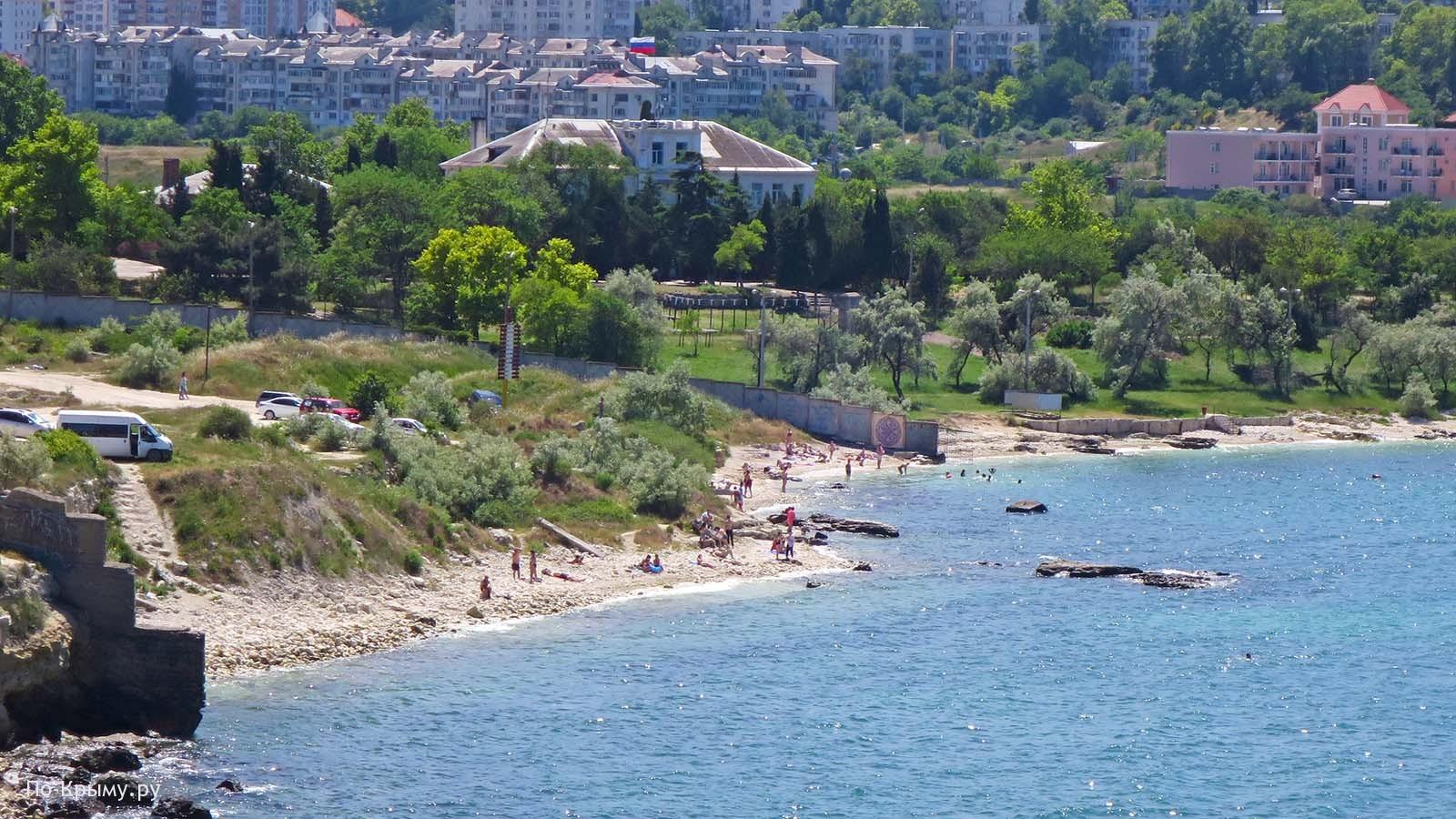 Севастополь, пляж БТК