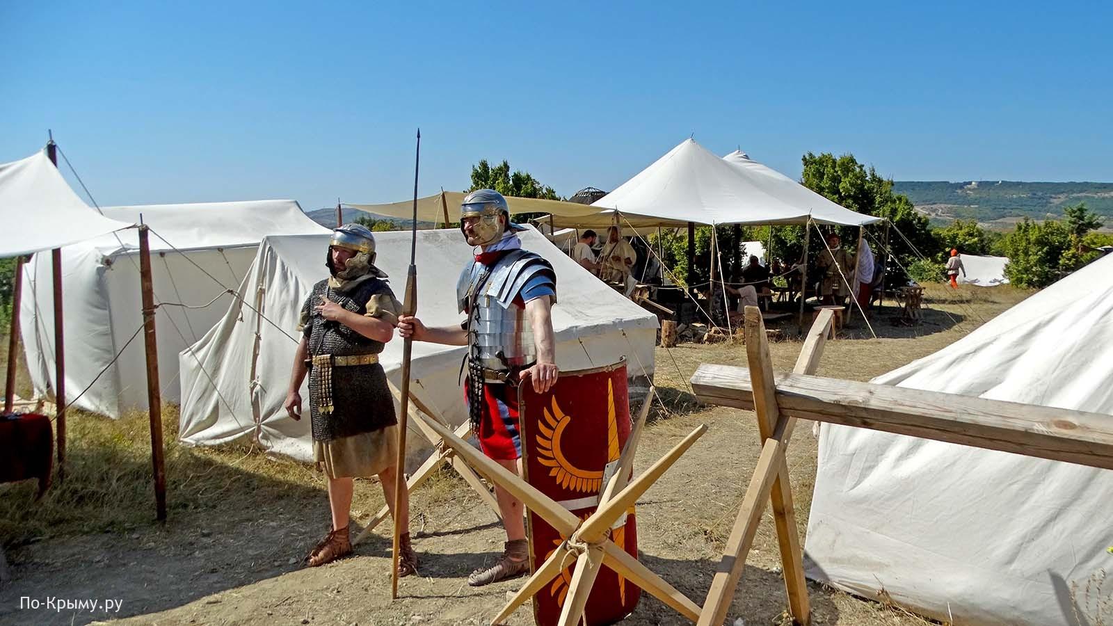 Древние римляне в Крыму