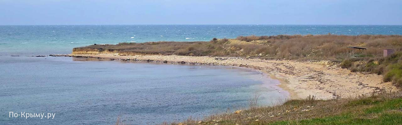 Небольшая бухточка Офицерского пляжа Северной стороны
