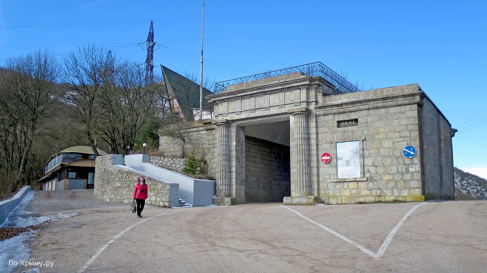 Байдарские ворота зимой