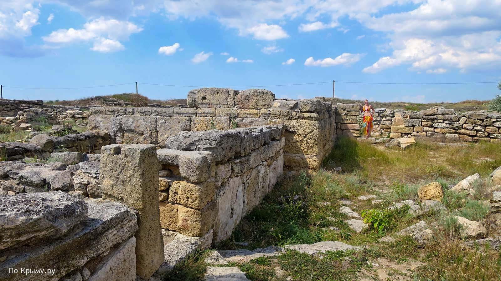 Античное городище Беляус в Крыму