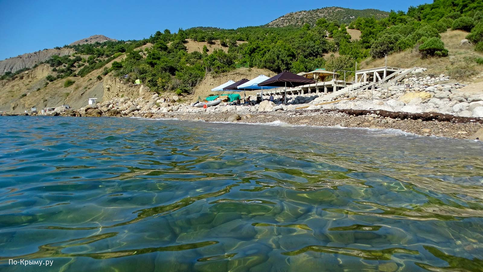 Черное море у Балаклавы