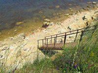 Спуск к пляжу СТ Чайка на Радиогорке