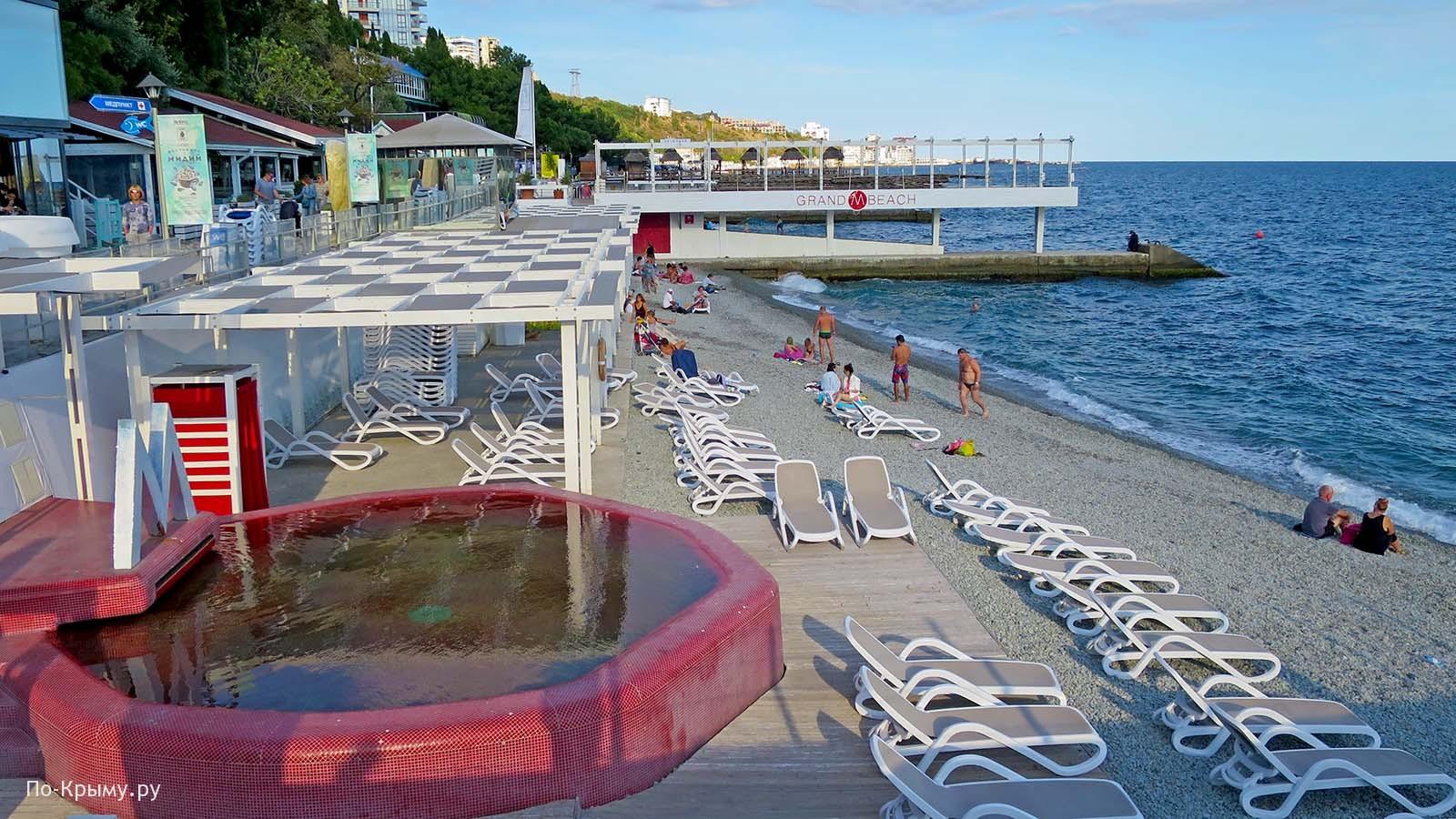 Пляжный клуб Grand M Beach