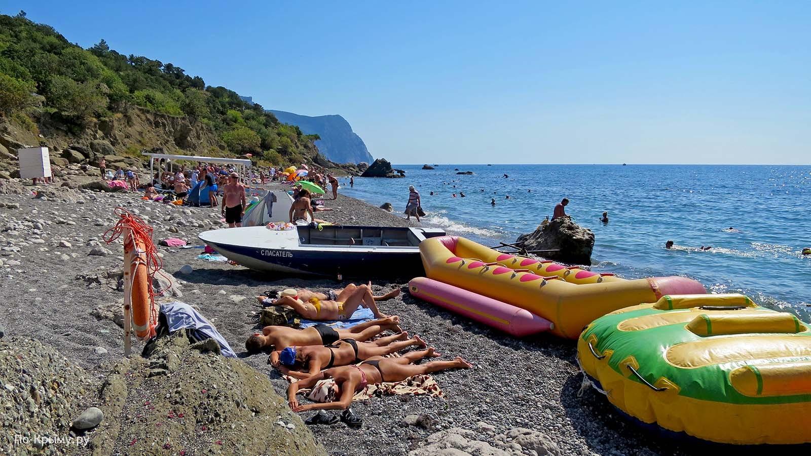 Лето в Крыму - Серебряный пляж Балаклавы