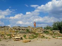 Античное городище Беляус на западе Крыма