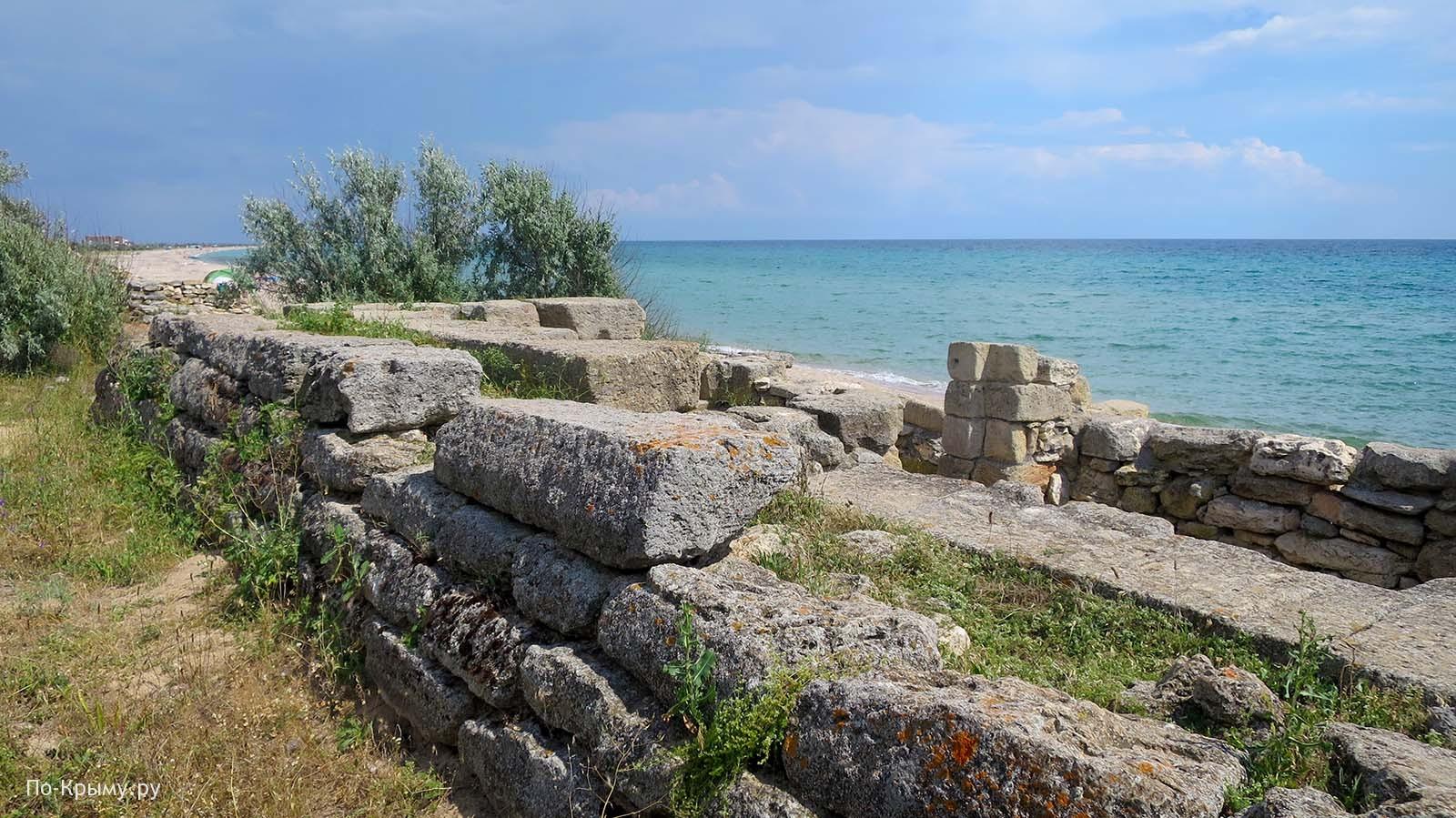 Греко-скифское поселение Беляус, антитаранный пояс