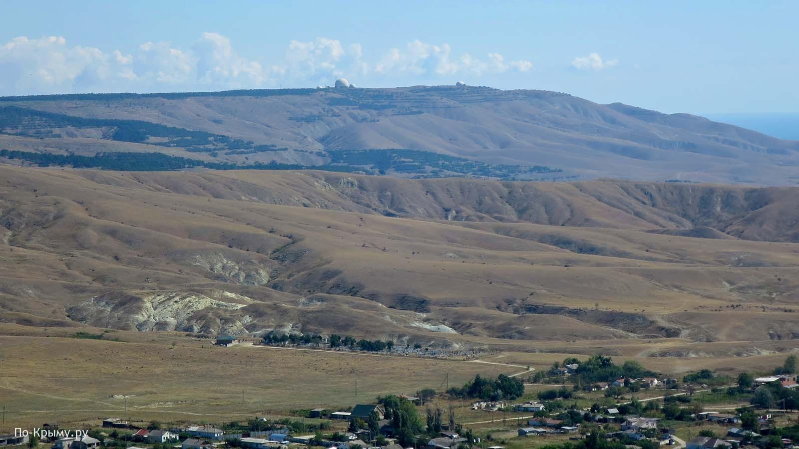 Вил с горы Планерной в Коктебеле