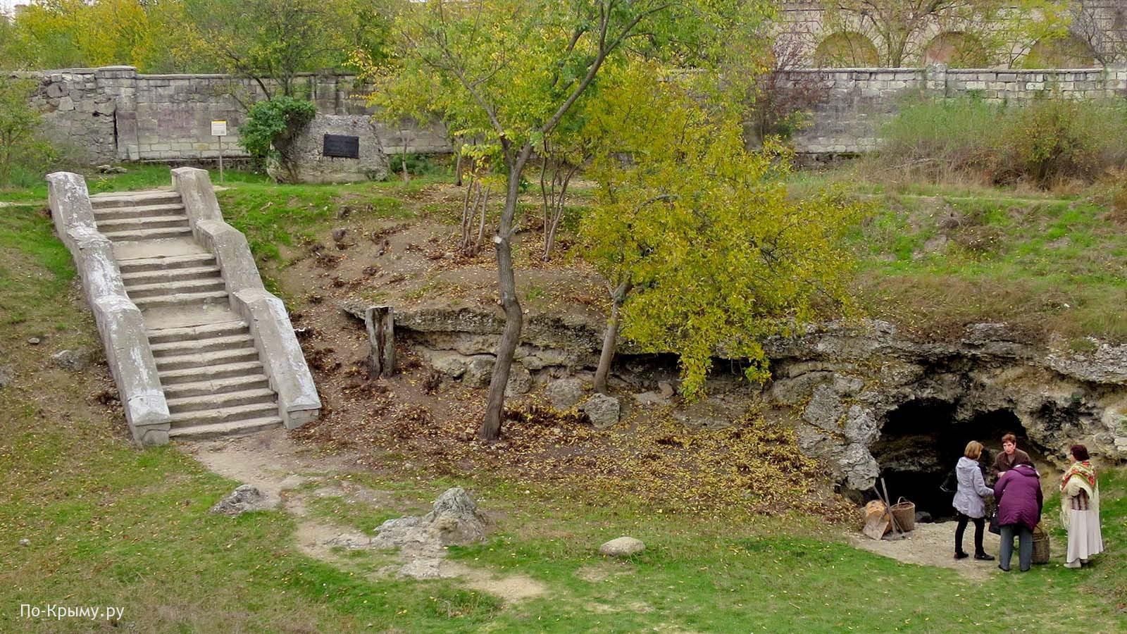 Следы подземно-минной войны в Севастополе, I Оборона